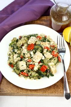 Greek Chicken Quinoa
