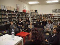Giallo di zucca al Centro Documentazione Donna di Ferrara.