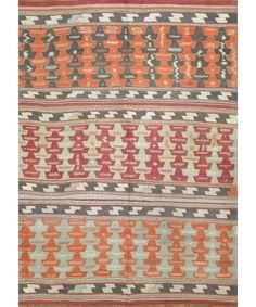 "Turkish Kilim Rug-model-cc1889 CC1889-Design# 1261, Size- 5'-6"" X 7'-8""  #carpet #rugs #flooring #office #home #decoration #bedroom #livingroom #diy #handmade #best #cleaning #modern #design #runner #print"