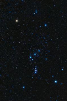La constelación de Orión, el cazador, es una de las más impresionantes del cielo, así como una de las más fácilmente localizables. Con numerosos objetos de gran belleza en su interior, a simple vista destacan la estrella Betelgeuse, de color rojo, el famoso cinturón de Orión con las tres maría: Mintaka, Alnilam y Alnitak y, bajo el cinturón, Rigel, otra de las estrellas más llamativas del cielo. Android Phone Wallpaper, Bellatrix, Avenged Sevenfold, Day Lilies, Stars And Moon, Night Skies, Geology, Bart Simpson, Backgrounds