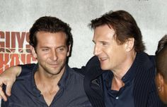 bradley cooper, liam neeson....excuse me am i in heaven!?