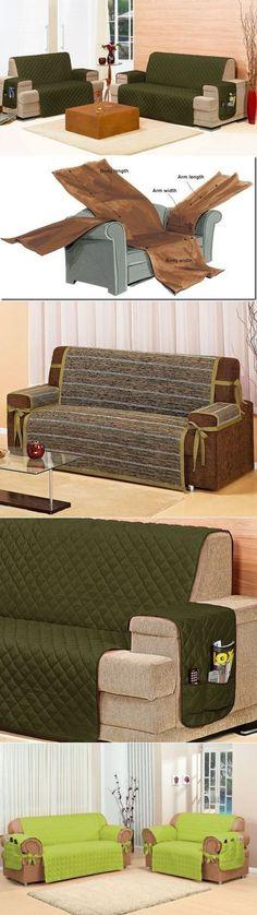 Чехол для дивана. Интересная идея.