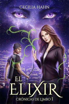 """Portada de """"El Elixir"""" de Cecilia Hahn. Realizada por Luz Tapia"""
