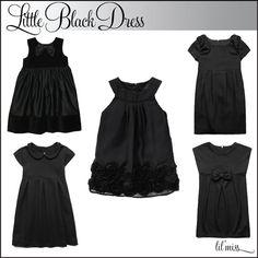 "Anf...the ""Lil black christmas dress"" for Mamita's Girl!"