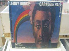 Lenny Bruce Carnegie Hall Live 1961 vinyl 3x LP