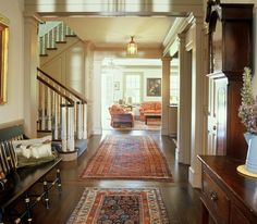 **Use the same color palette, rugs in your home - WalnutHillRanchGastArchitects13