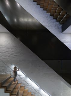 Downtown Townhouse Stairs design by Studio db / fabrication by Argosy Designs