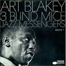 """Kicking off the day with """"That Old Feeling"""" from the album """"3 Blind Mice"""" recorded in 1961 by Art Blakey and The Jazz Messengers. This tune features the pianist, Cedar Walton who improvises over the majority of the track. Also featured on this album are Wayne Shorter (t.sax), Freddie Hubbard (tpt), Curtis Fuller (trombone), Jymie Meritt (bass) and Blakey on drum set."""