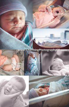 Fresh 48, in hospital newborn photos