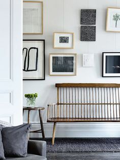 Benches And Pictures - Via The Design Chaser
