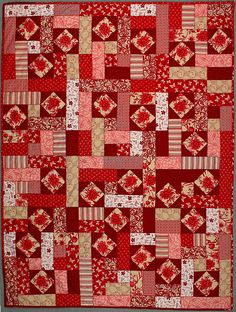 1000 Images About Red Quilts On Pinterest Red And White