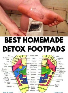 This natural detox remedy is used for decades by Chinese and Japanese people. Find out how to make homemade detox footpads!
