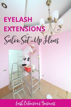 Get a free Salon Setup & Product Guide where I have a few links to some stores, where you can save on eyelash extensions products and you will also see what sort of things you will need when you�re just starting out. Get it at http://lashtribe.com.au/2016/10/24/eyelash-extensions-salon-ideas/ | Lash Salon + Studio + Room + Bar + Decor Interior Design + Salon | Eyelash Extensions Business