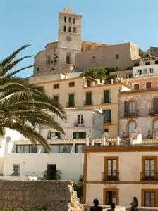 Ibiza Old City side