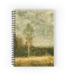 """Breath of autumn"" Spiral Notebooks by floraaplus 