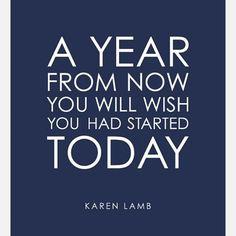 Start today. #motivation #inspiration #quote #todayistheday