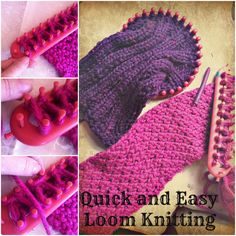 Loom Knitting!
