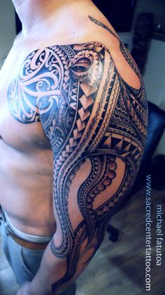 By Mike with Sacred Center Tattoo