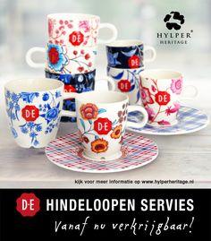 Hylper Heritage tableware - http://hylperheritage.nl