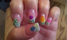 Happy Easter! - Nail Art Gallery by www.nailsmag.com #nailart