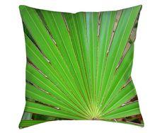 TROPICAL, THROW PILLOWS, Cushions, Sofa, Palm, Floral, Green, Pillow, Nature, Trees, Palm Tree, Photo, Garden, Foliage, Fauna, Botanical