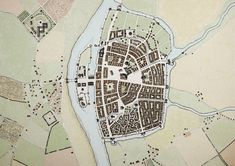 medieval city map - Google Search