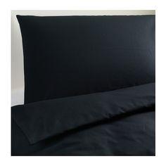 DVALA Bettwäscheset, 2-teilig IKEA Verdeckte Druckknöpfe am Bezug verhindern, dass die Decke herausrutscht.