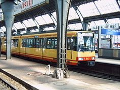S Bahn, Cities, Karlsruhe, City