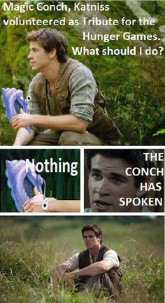 Haha it's mix of Spongebob and The Hunger Games! My life is now complete C: