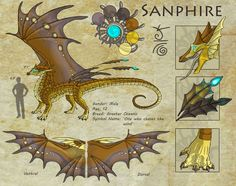 Sanphire Reference by SeaSuds on deviantART