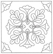 Awesome Most Popular Embroidery Patterns Ideas. Most Popular Embroidery Patterns Ideas. Rug Hooking Patterns, Stencil Patterns, Applique Patterns, Tile Patterns, Quilting Designs, Embroidery Designs, Motif Arabesque, Penny Rugs, Wool Applique
