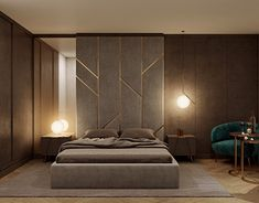 modern bedroom on Behance Bedroom Wall Designs, Bedroom False Ceiling Design, Luxury Bedroom Design, Bedroom Bed Design, Modern Master Bedroom, Bedroom Styles, Bedroom Decorating Tips, Bedroom Decor For Couples, First Apartment Decorating
