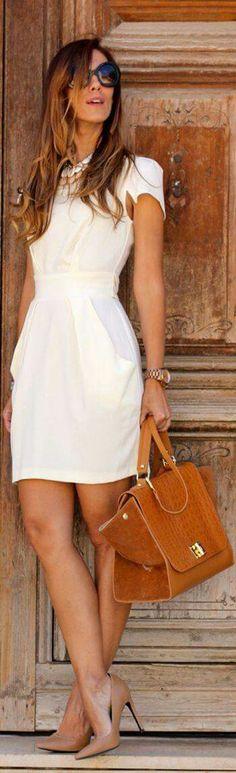 Dia fresco, vestido comodo pero elegante