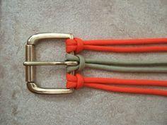 Paracord belt tutorial