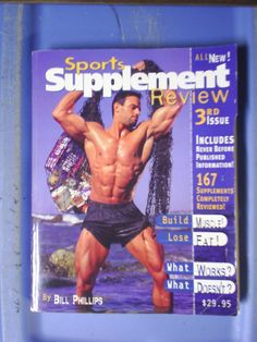 Book with VHS in Hubbie16's Garage Sale in Colorado Springs , CO for $15.00. Book: Sports Supplements Review 3rd issue VHS: Body of Work  Both by Bill Phillips Excellent if you or you know someone the is training toning up to body building.