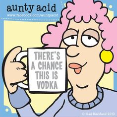 I've got that Friday feeling Folks, even if it is only Wednesday :/   Looking for a unique witty gift to send to a friend? Then check out these fabulous acerbic Aunty Acid gifts from our friends at AMAZON! Click the link and have a browse! http://www.amazon.com/s/ref=nb_sb_noss?url=search-alias%3Daps=aunty+acid+gifts+