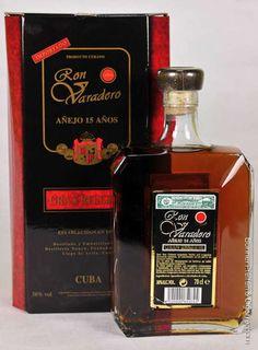 Cuban Rum. Varadero 15 Years.