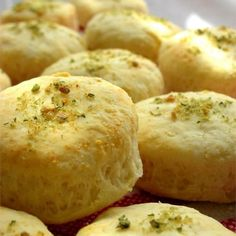 """Mini Parmesan Scones   """"It has a light cheese flavor which added to for you cheese lovers!"""" #baking #bakingrecipes #howtobake #scone #breadrecipes #cheeserecipes"""