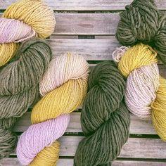 new plant-dyed yarn 🙌 yellow onion skins + iron / goldenrod + lacNezinscot Farm Store Farm Store, Onion, Throw Pillows, Yellow, Plants, Cushions, Decorative Pillows, Onions, Decor Pillows