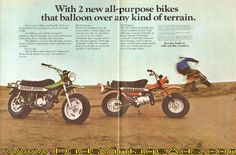 1973 Vintage Motorcyle Ad: Look Out! – here comes Suzuki. Vintage Bikes, Vintage Motorcycles, Sport Motorcycles, Honda Motors, Suzuki Motorcycle, Pit Bike, Old Bikes, Here Comes, Tricycle