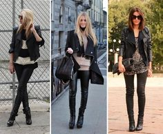 I really want leather pants!! There are some faux leather pants and Target that I've got my eye on...