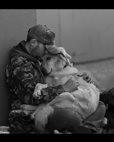 cute puppy pictures with people vertrauen von Michael Deeken Happy Veterans Day Quotes, Veterans Day Images, I Love Dogs, Puppy Love, Mans Best Friend, Best Friends, Nikon D200, Animals And Pets, Cute Animals