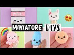 4 DIY MINI NOTEBOOKS - Easy & Cute Designs! - YouTube