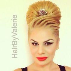 #hairstyle #hairdesign #hairstylist #amazing #amazinghair #AnastasiaBeverlyHills #style #salon #hairbyvalerie