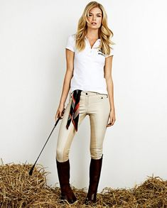 Gina Tricot : collection capsule Falsterbo Horse Show 2012 Women's Equestrian, Equestrian Outfits, Horse Riding Clothes, Riding Boots, Athleisure, Riding Breeches, Gina Tricot, Horse Girl, Style Guides