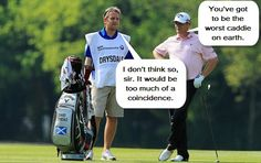 Golf Jokes: The Golfer and The Caddie