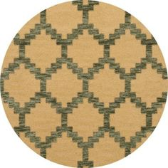 Dalyn Rug Co. Bella Brown Area Rug Rug Size: Round 6'