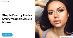 Beauty Hacks Every Girl Should Know – BERGAYO Life Hacks Every Girl Should KnowLife . - 7 Genius Beauty Hacks that every girl from . Diy Beauty Face, Beauty Tips For Hair, Beauty Makeup Tips, Beauty Hacks Eyelashes, Beauty Hacks Nails, Beauty Hacks Every Woman Should Know, Beauty Hacks Dark Circles, Cleopatra Beauty Secrets, Happy Skin