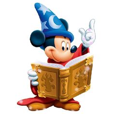 Mickey The Sorcerer Halloween Clipart Images Are On A Transparent Background