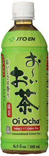 Ito En Tea Unsweetened Beverage, Oi Ocha Green, 16.9 Ounce by Ito En via https://www.bittopper.com/item/ito-en-tea-unsweetened-beverage-oi-ocha-green-169-ounce/